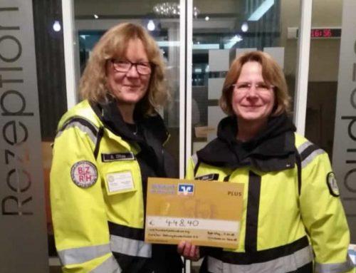 BZRH- RHS HarzSAR e.V. erhält Spende von der Volksbank